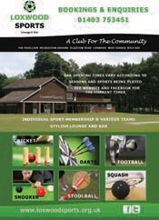 Loxwood Sports Leaflet